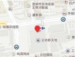 昆明云纺商业区详细地址及乘车路线一览